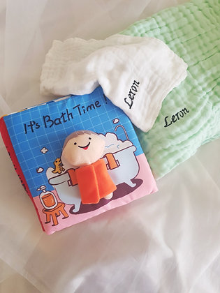 Baby Gift Set -  Baby's Bath Starter Kit