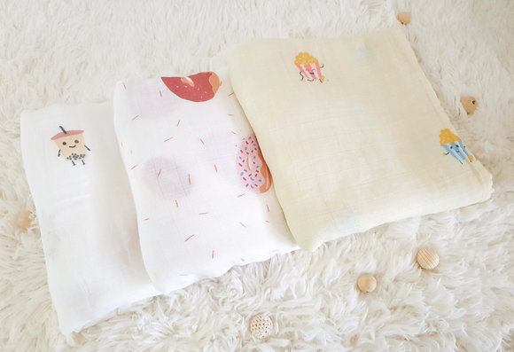 Baby Gift Set - Exclusive swaddles by Lè