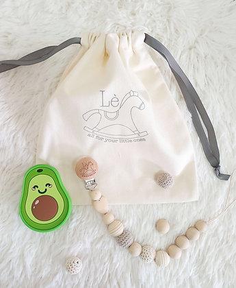 Baby Gift Set - Teething Starter Kit (Avocado)