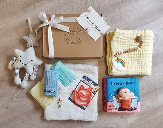 Create your own - Bath set and Swaddle