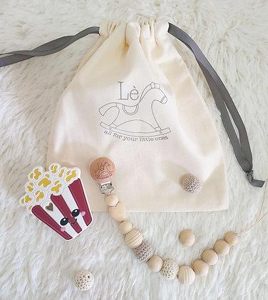 Baby Gift Set - Teething Starter Kit (Popcorn)