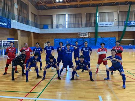 埼玉県フットサルリーグ2部 開幕戦 試合結果