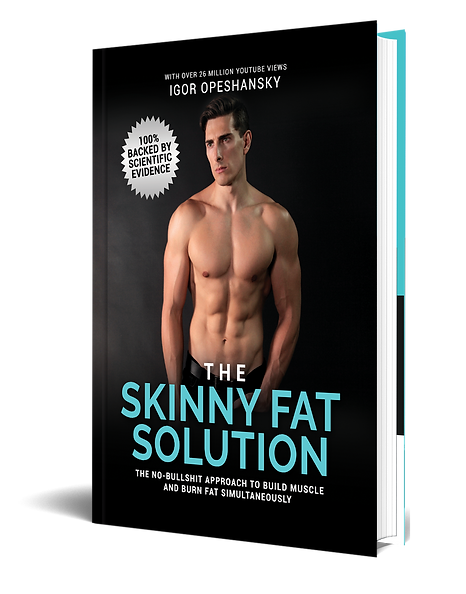 SKINNY FAT SOLUTION standing book png2.p