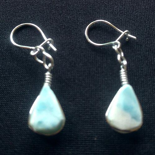 Larimar Earrings (large)
