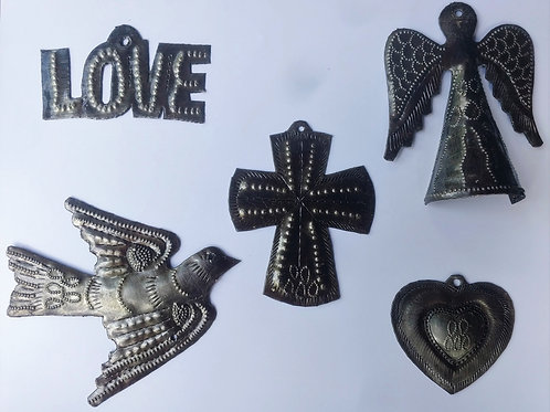 Special!!! All Five Christmas Ornament Collection