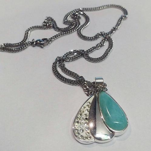 Larimar Tri-Look Necklace