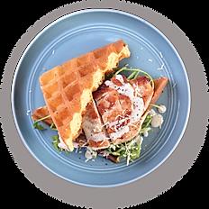 Chicken Rockets Waffle