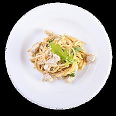 Truffle Cream Spaghetti