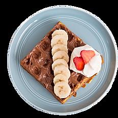 Banana Nutella Waffle