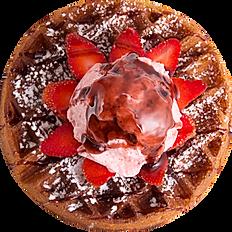 Mix Berries Waffle