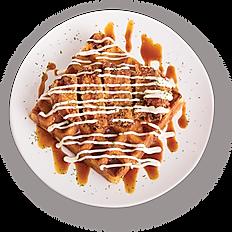 BBQ Chicken Waffle