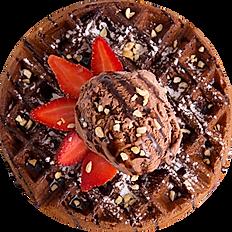 Chocolate Chunk Waffle