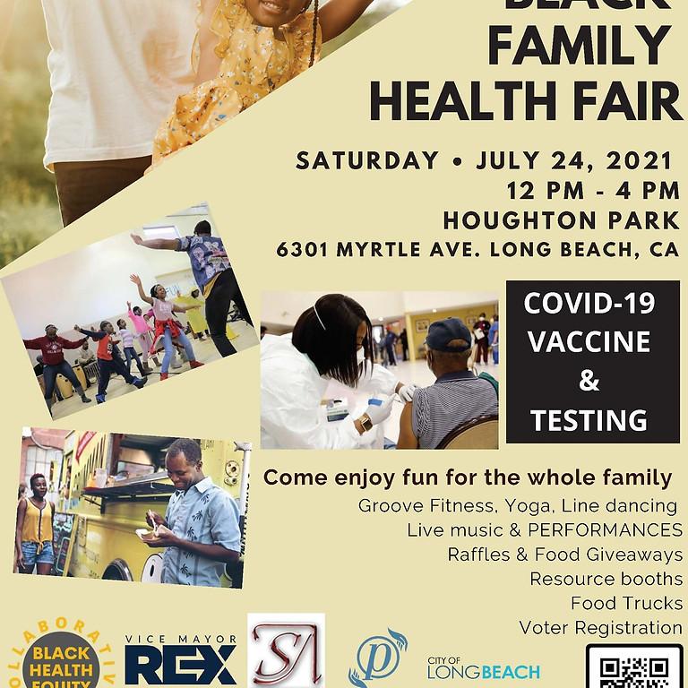 Black Family Health Fair