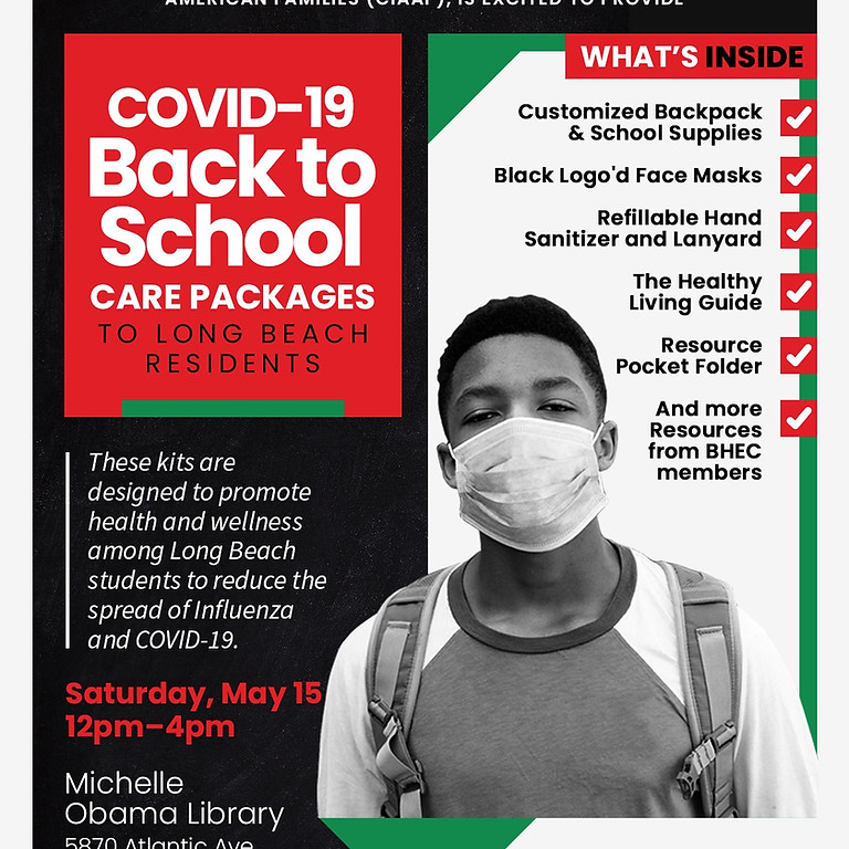 Covid -19 Back to School Care Packages