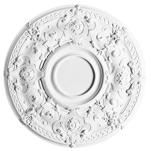 Large rosette with classic carving