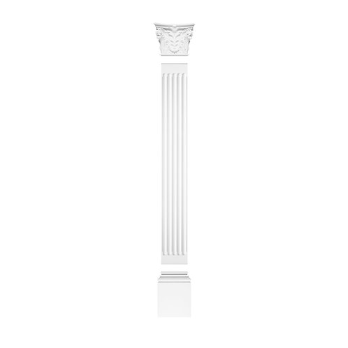 Full Pilaster With Corinthian style Top 288cm