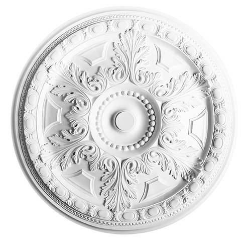 egg dart large ceiling rose