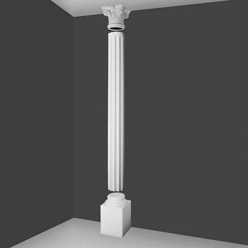 Full Column Fluted  With Corinthian Top 286cm