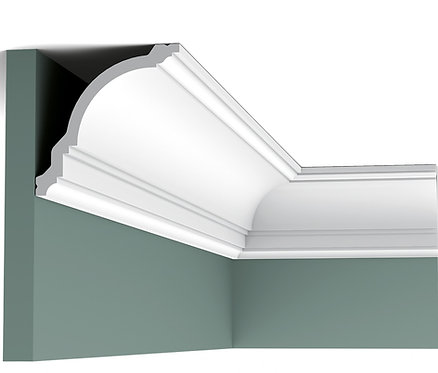coving with swan neck and steps ogee style