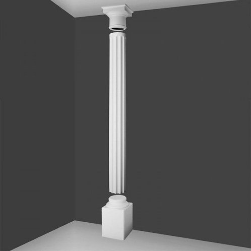 Full Column Fluted  With Doric Top 286.5cm