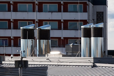 Ventilation Exhaust on a Building