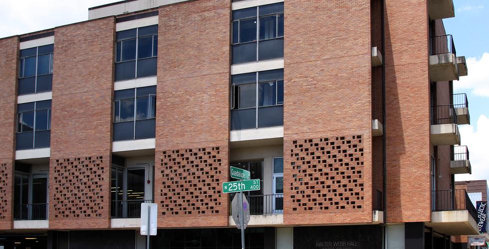 Walter Webb Hall UT Austin 2020