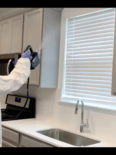 Watch our technician disinfect a new home before moving-in:
