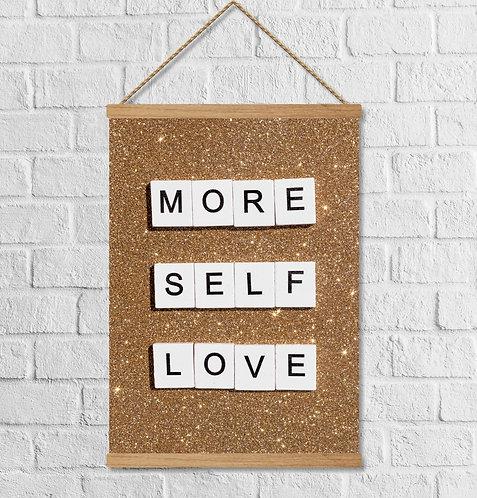 "Cuadro Lienzo ""self love"""
