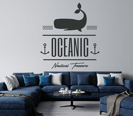 "Vinilo decorativo ""oceanic"""