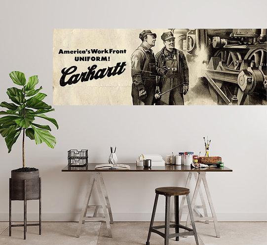 "Vinilo impreso ""Carhartt"""