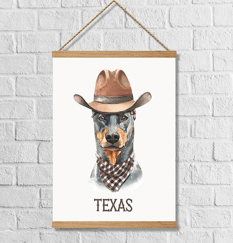 """Cuadro Lienzo """"Texas"""""""