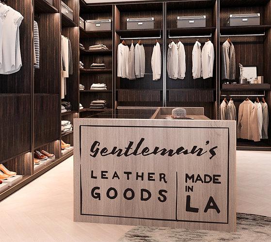 "Vinilo decorativo ""gentleman"""