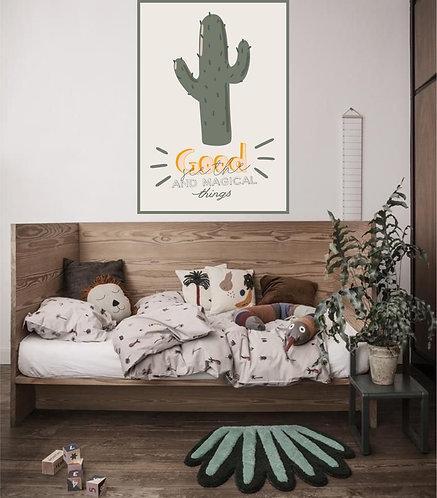 "Vinilo impreso ""good cactus"""