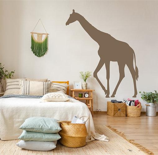 "Vinilo decorativo ""jirafa"""