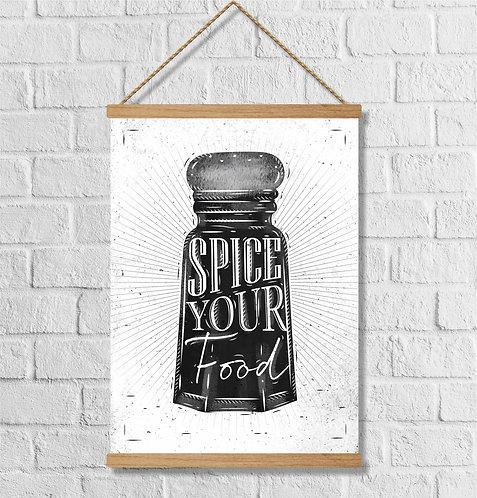 "Cuadro Lienzo ""spice"""