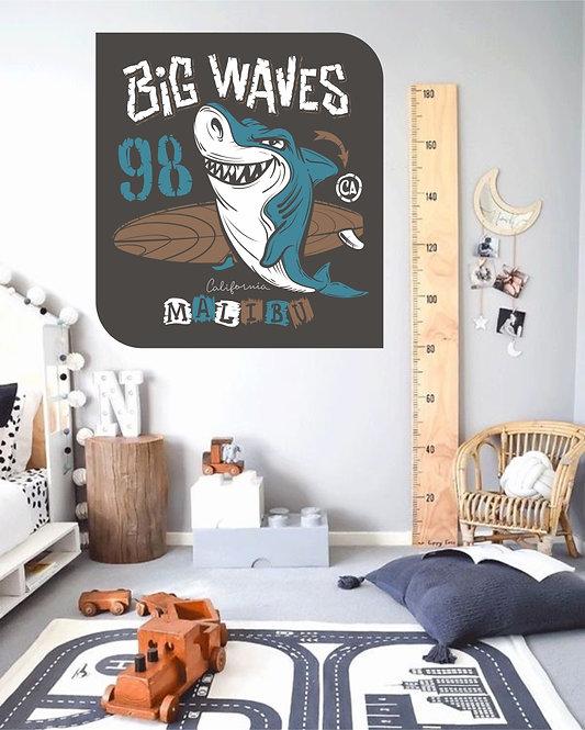 "Vinilo impreso ""big waves"""