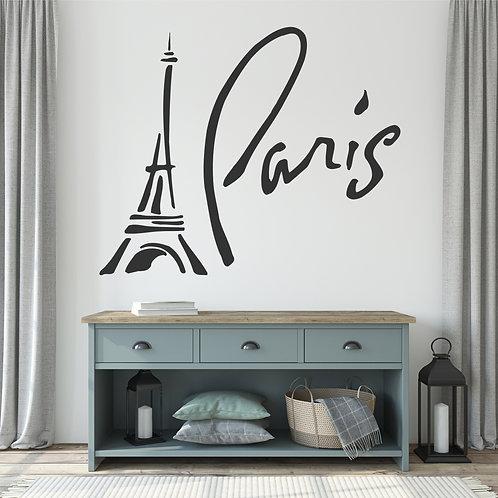 "Vinilo decorativo ""Paris"""