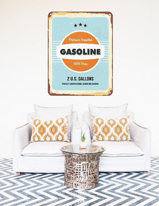 "Vinilo impreso ""gasoline"""