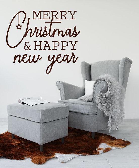 """Vinilo decorativo """"new year"""""""