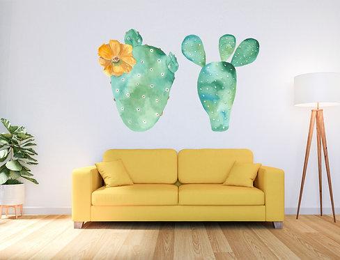 "Vinilo impreso ""cactus"""