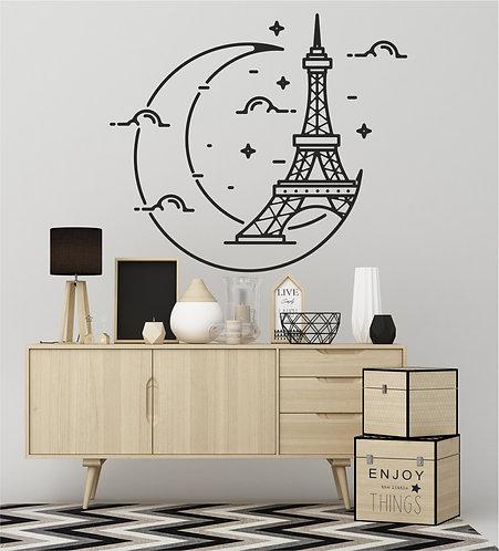 "Vinilo decorativo ""Torre Eiffel"""