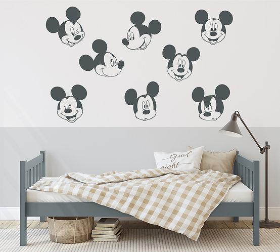 """Vinilo decorativo """"Mickey"""""""