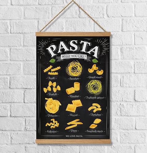 """Cuadro Lienzo """"spaghetti"""""""