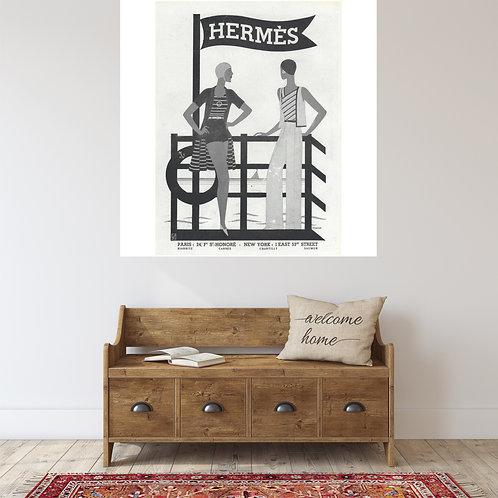 """Vinilo impreso """"Hermés"""""""
