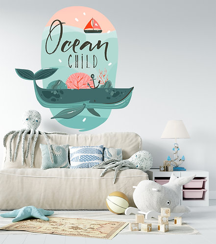 "Vinilo impreso ""ocean child"""