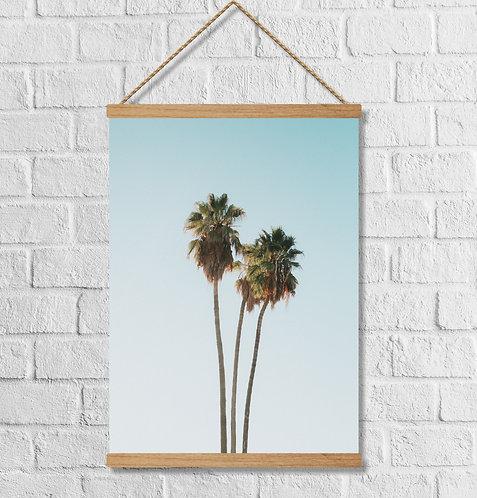 """Cuadro Lienzo """"palm tree"""""""
