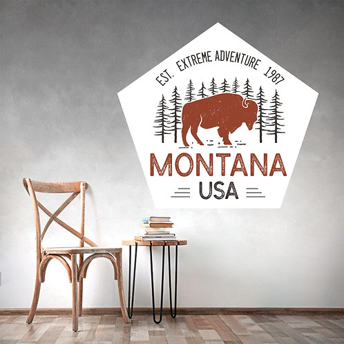 "Vinilo impreso ""montana"""