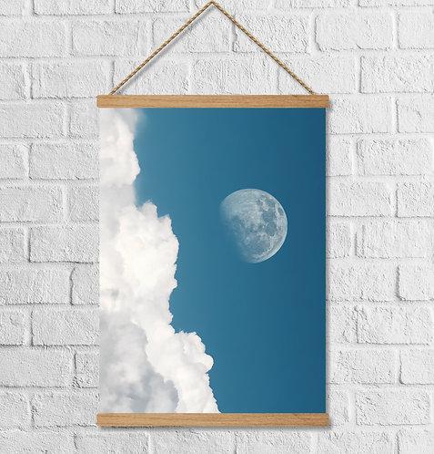 "Cuadro Lienzo ""moon"""