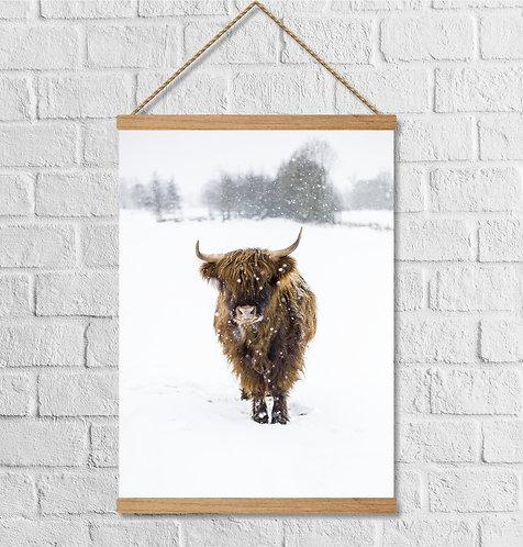"Cuadro Lienzo ""snow"""