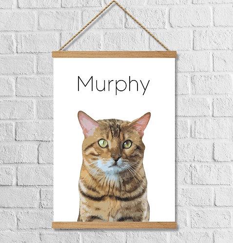 Cuadro Personalizado Gato
